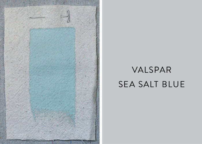 Above Sea Salt Blue From Valspar Is Very Similar To Farrow Ball S Skylight Shown Second Last Slightly Greener