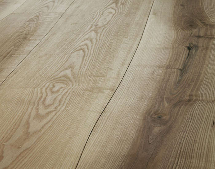 Curves ahead undulating wood floors from the netherlands Ash wood flooring