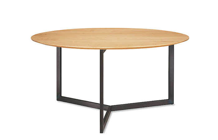 Luxury Above Bond Round Dining Table in solid maple for from Room u Board inches in diameter