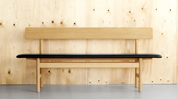 Tremendous 10 Easy Pieces Modern Wooden Benches With Backs Remodelista Ibusinesslaw Wood Chair Design Ideas Ibusinesslaworg