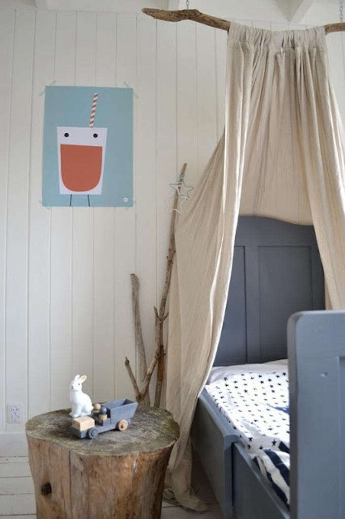 DIY Childrens Canopy Bed
