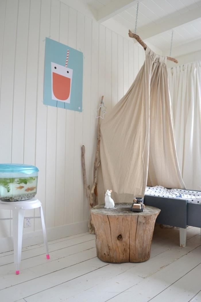 DIY Childrenu0027s Canopy Bed & DIY: Childrenu0027s Canopy Bed - Remodelista