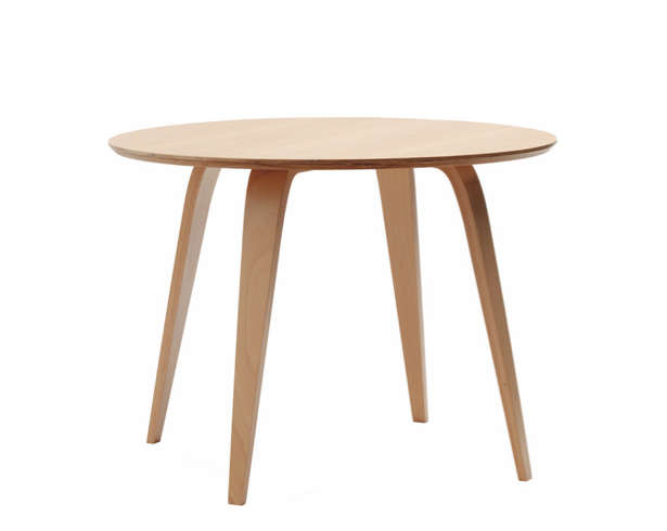 Marvelous Above Round Cherner Table available in beech or walnut veneer for from Zinc Details inches in diameter