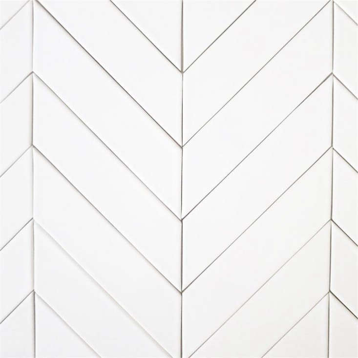 You Can Even Parallelogram Shaped Subway Tiles And Lay Them In A Chevron Pattern