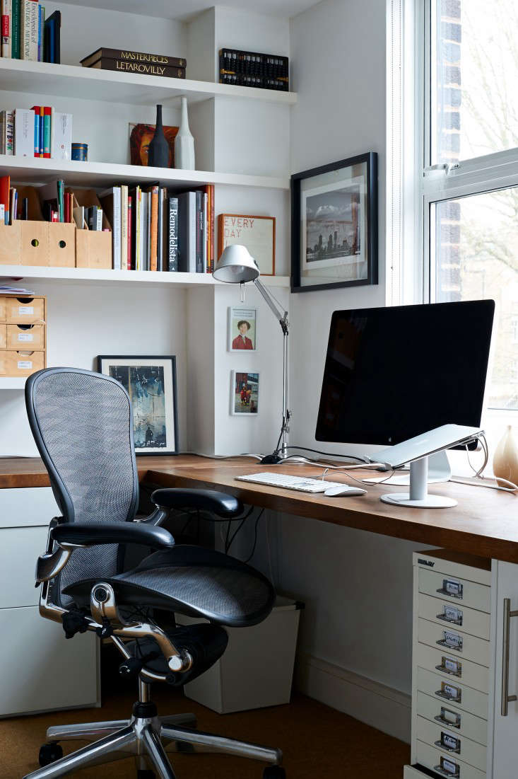 storage home office. Above: In The Corner Where I Typically Sit, There\u0027s A Monitor For Easy Laptop Plug-ins And An Ergonomic Aeron Chair By Herman Miller. Storage Home Office
