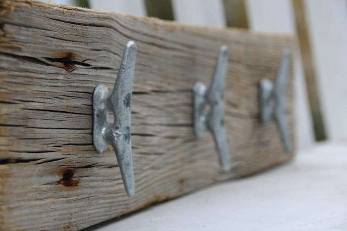 Genial Above: A Nautical Coat Rack Made Of Reclaimed Wood And Galvanized Boat  Cleats From Dockside Cottage On Etsy. The Design Is No Longer Available, ...