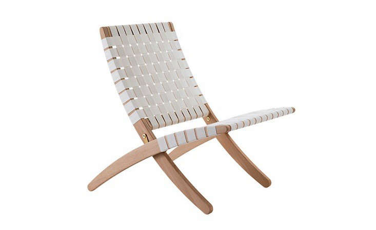 10 easy pieces: modern woven chairs - remodelista