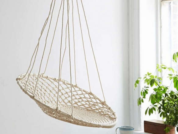 10 Easy Pieces Hanging Rattan Chairs Remodelista