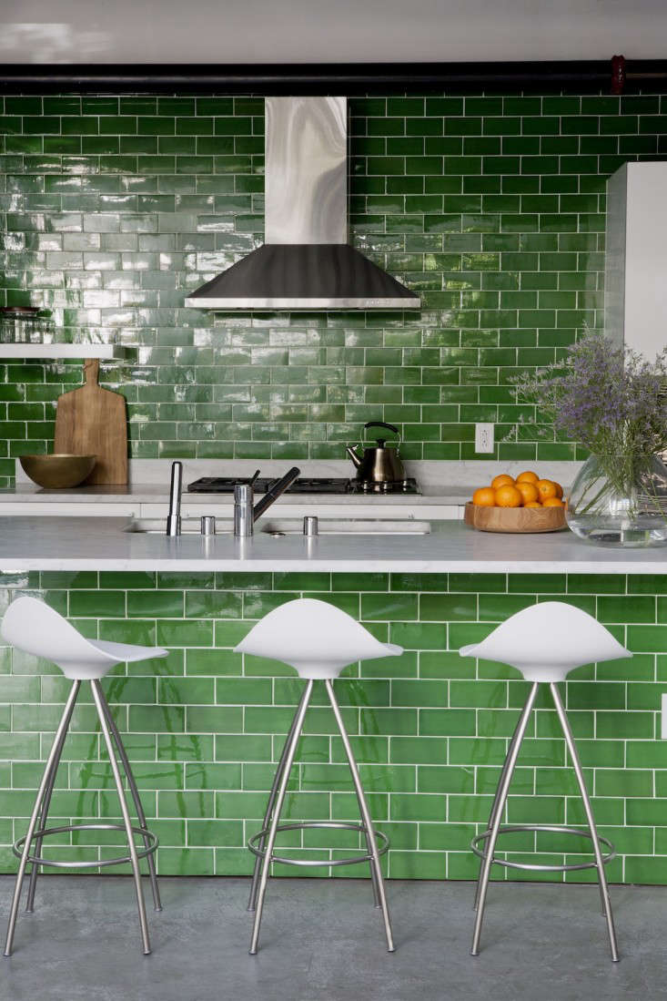 Totally Tiled 11 Kitchens With Unexpected Tile Details Remodelista