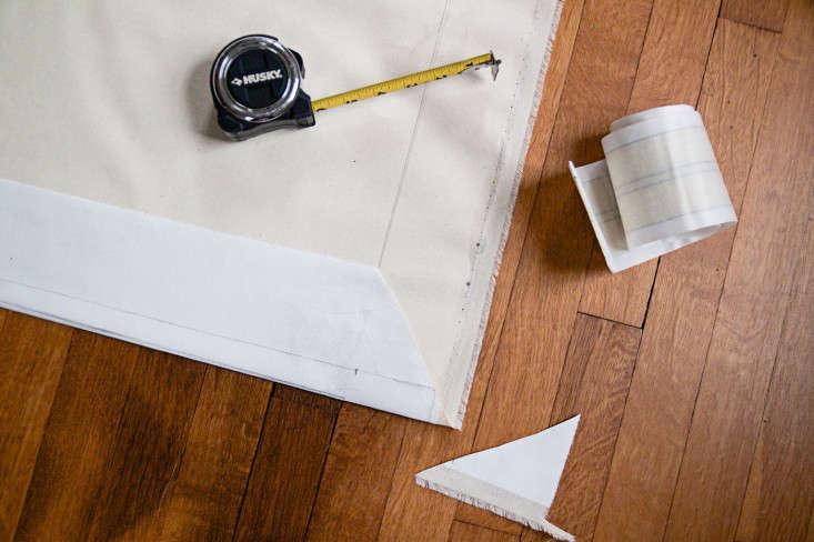 Swedish Striped Canvas Floorcloth