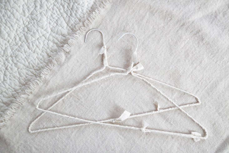 Salvaged Style: An Easy DIY Upgrade for Dry Cleaner Wire Hangers