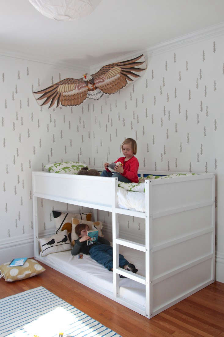 DIY: The Stenciled Kid's Room, Boreal Forest Edition