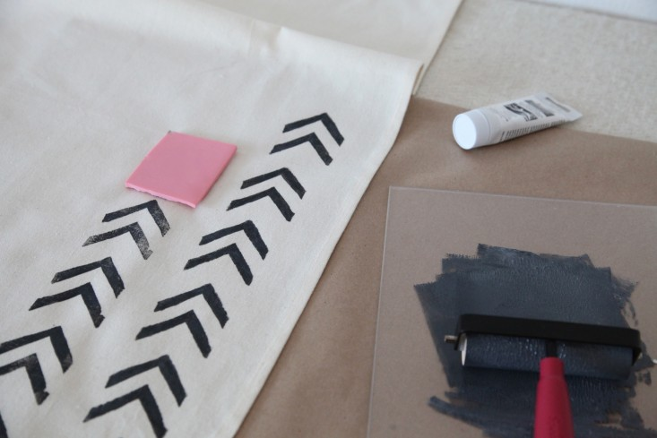 diy block printing the customized tea towel and more remodelista