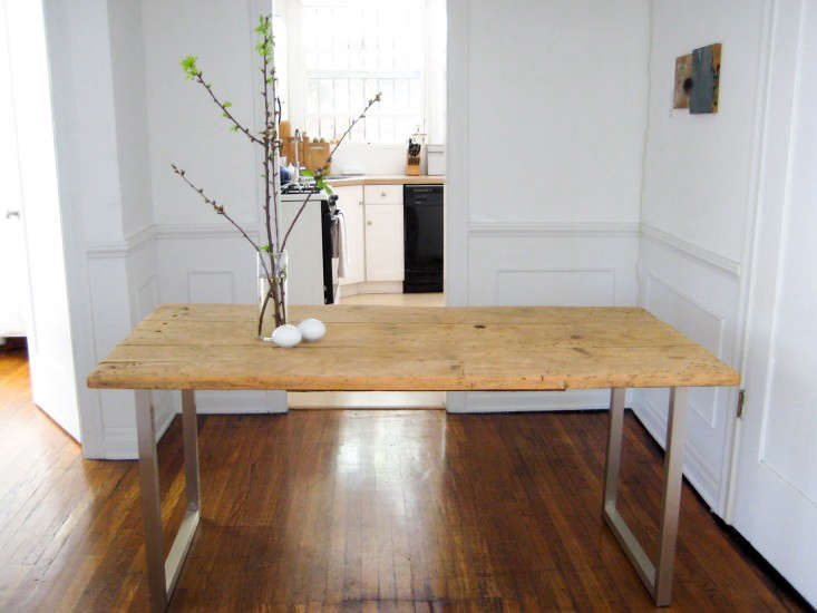 DIY: An Old Meets New Dining Table (for Under $125)