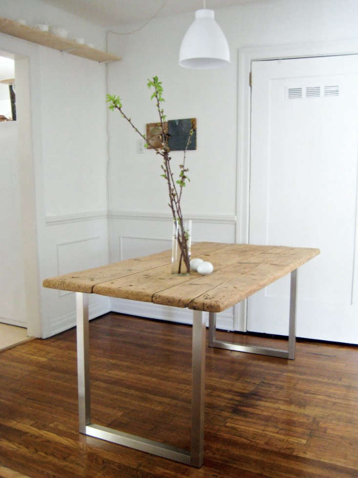 DIY An Old Meets New Dining Table For Under 125