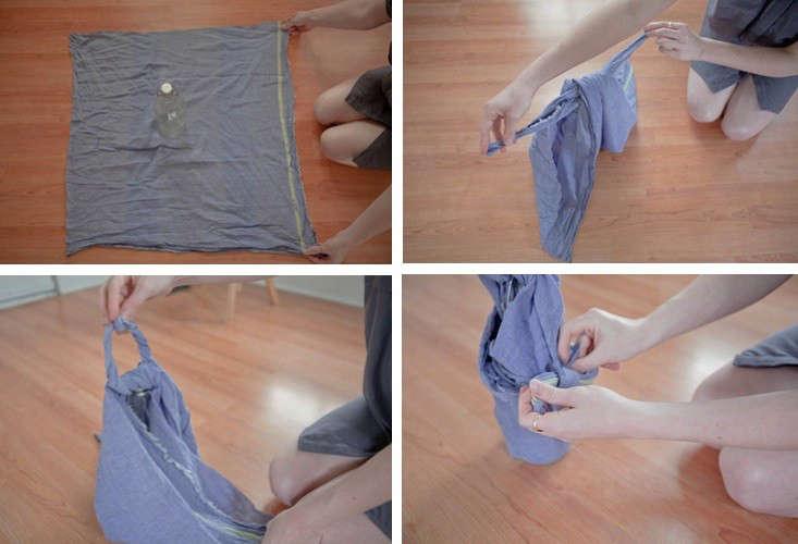 DIY: How To Wrap a Furoshiki Cloth
