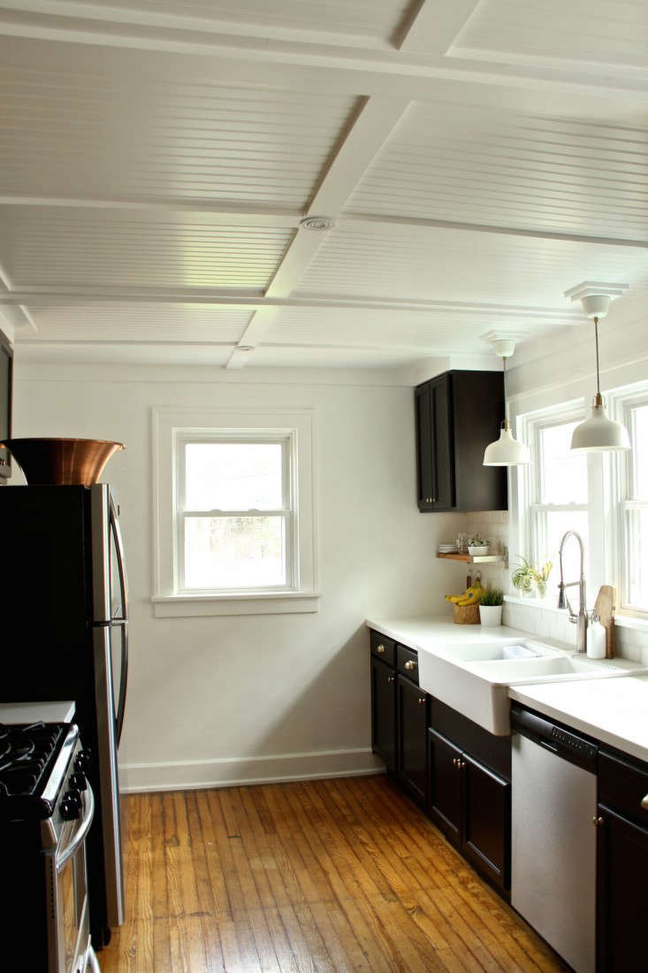 The Couple Tackled One Room At A Time Including Ceiling In Their Newly Overhauled