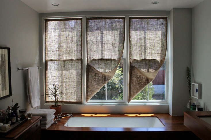 The Shingled House Diy Easy Burlap Shades For Less Than