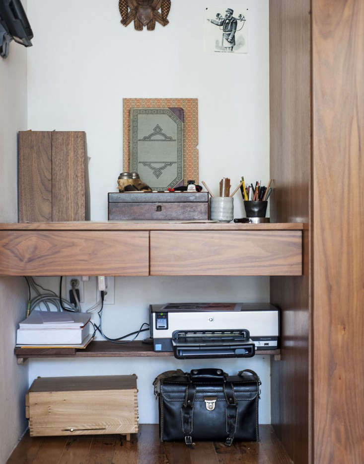 The Disappearing Home Office - Remodelista