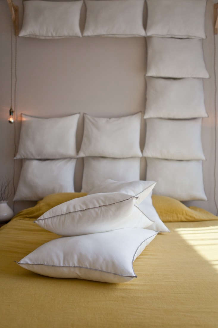 Just Add Pillows The Diy Headboard For 35 Remodelista