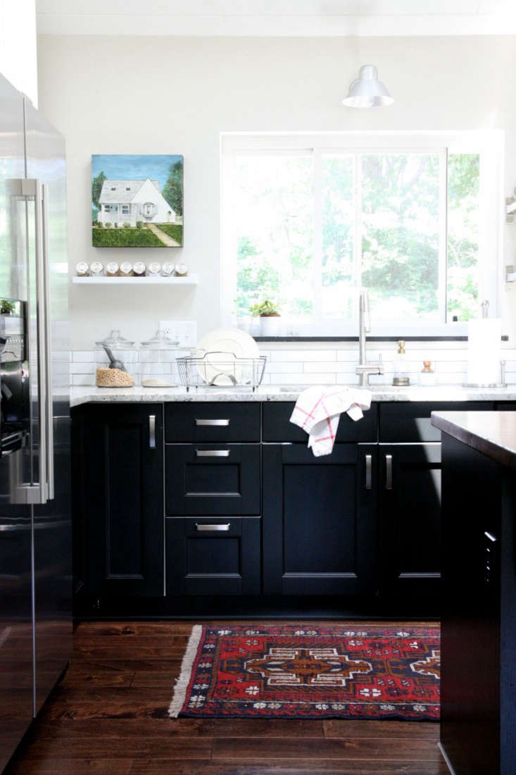 Ikea Kitchen Black rehab diary: an ikea kitchenhouse tweaking - remodelista