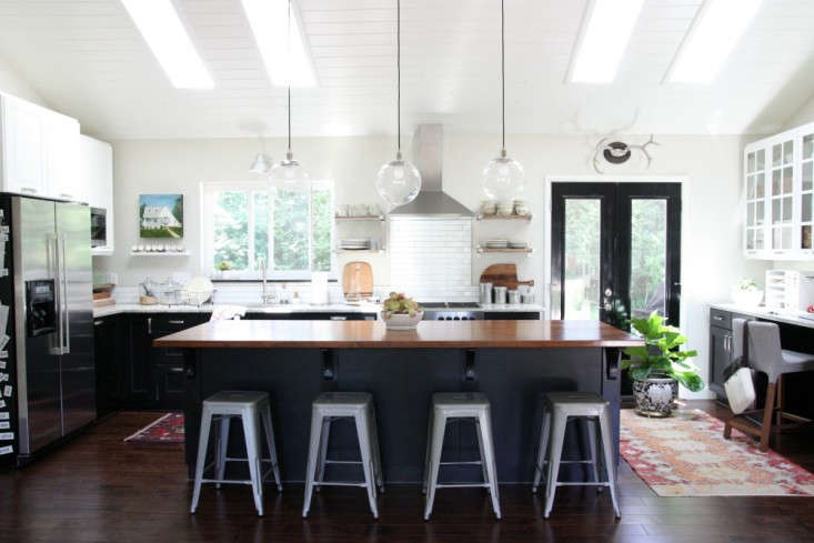 Dana Miller Of House Tweaking Redesigned Her Cincinnati Ranch House With Ikea  Kitchen Cabinets And Appliances