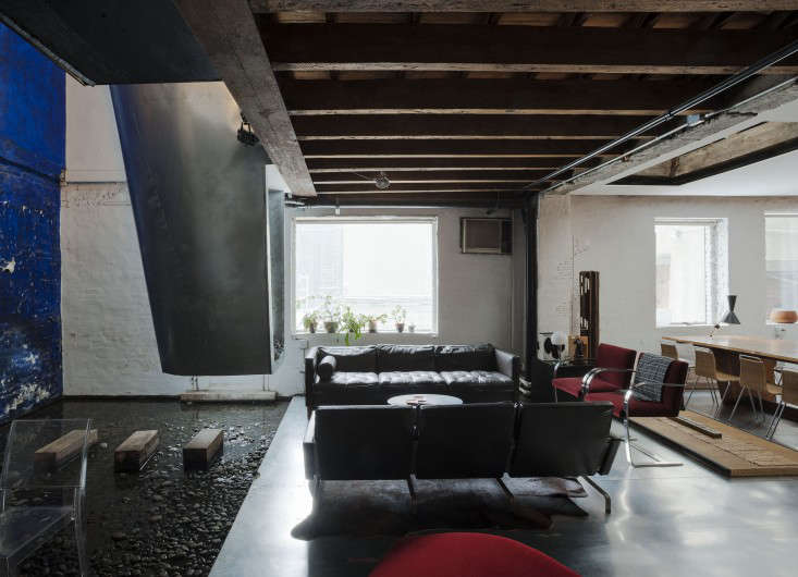 Life On The Edge An Architects Eccentric NYC Loft