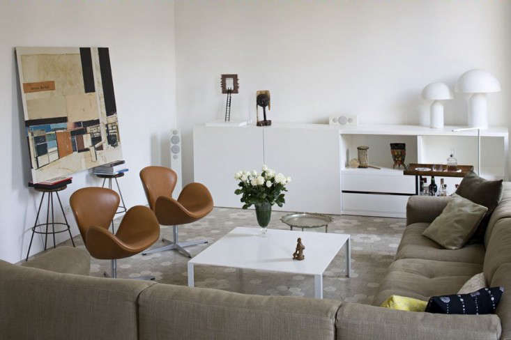 midcentury modern in barcelona at home with elina vila