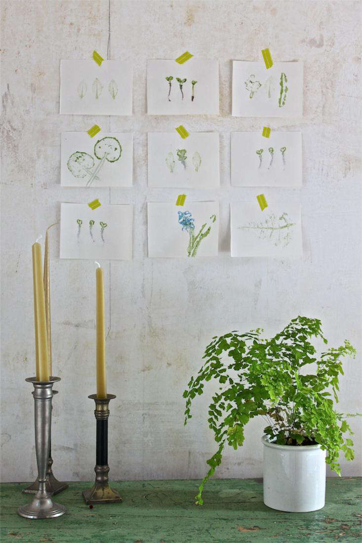 DIY: Easy Art Leaf Prints