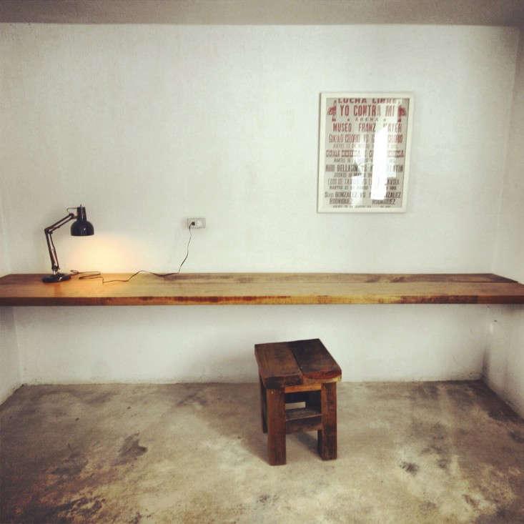 Houten Plank Aan Muur Bevestigen.Bureau Plank Aan Muur Gallery Of Mller Flatbox Wandbureau With