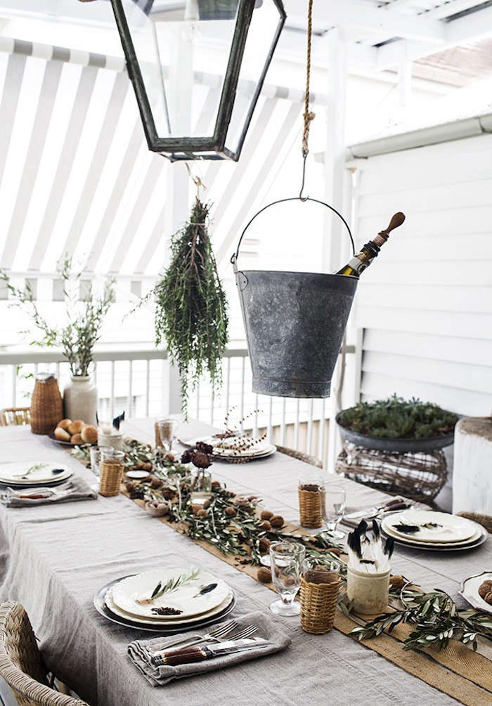 Steal This Look: A Rustic Holiday Table from Australia