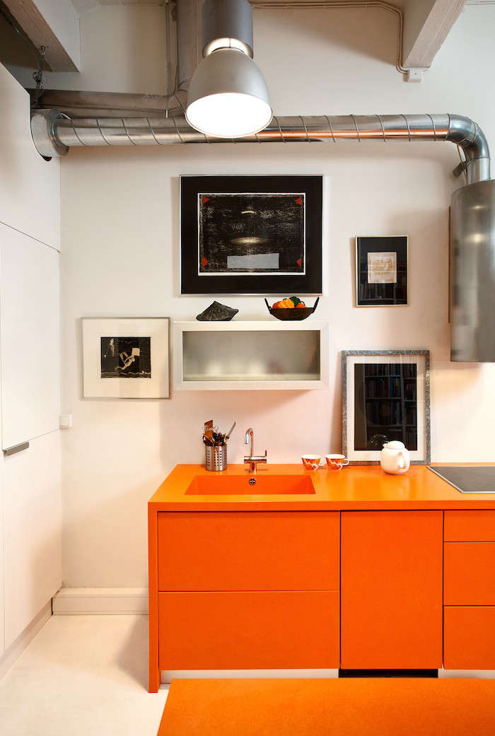Durat Solid Surface Orange Countertops Corian