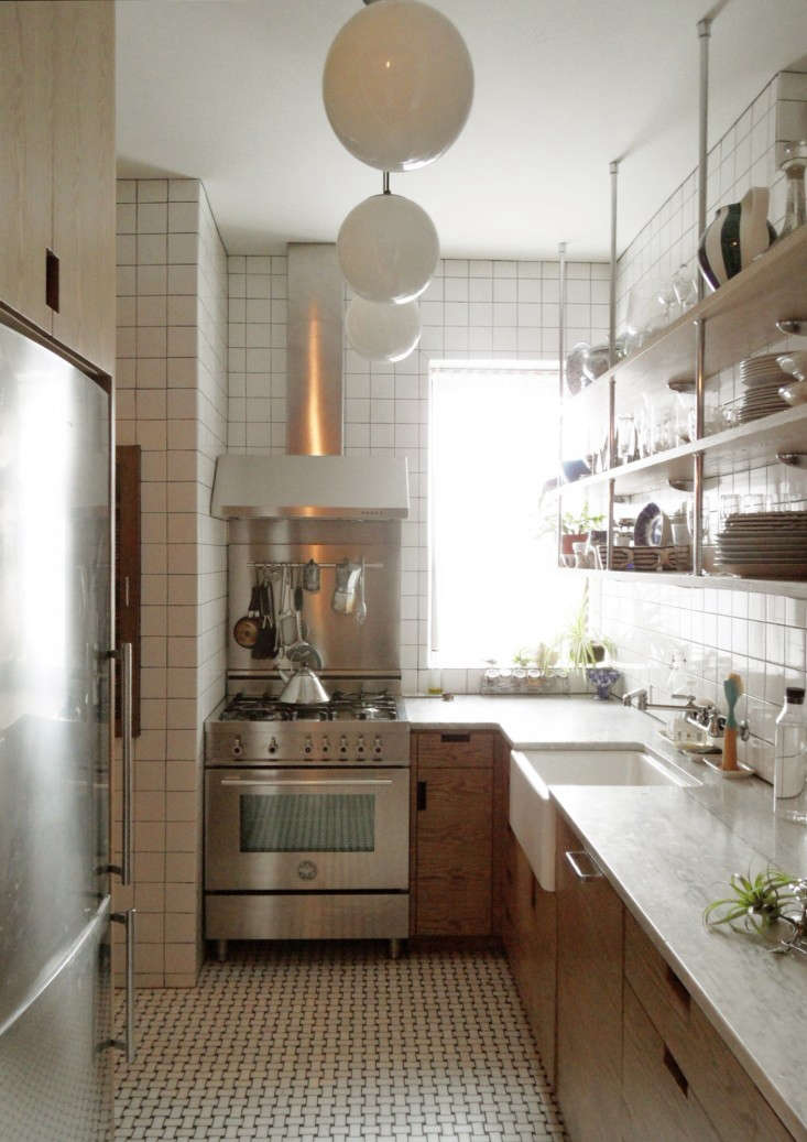 Above: After Nixing The Idea Of Opening Up The Kitchen To The Dining  Roomu2013u201dit Just Didnu0027t Work With The Prewar Apartment Layout,u201d Says Wegelu2013she  Transformed ...