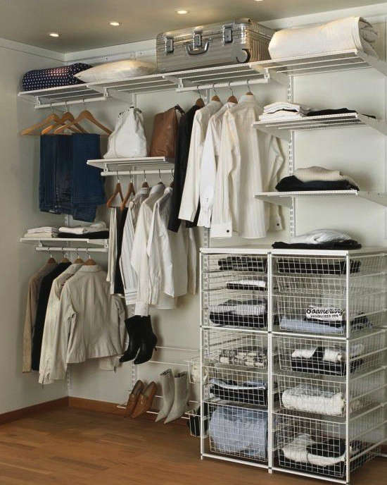Above: On The High End, Architect Amy Alper Loves Poliform Closets. Her  U201clowu201d Pick Is Elfa From The Container Store. Alper Has Used The System In A  Clientu0027s ...