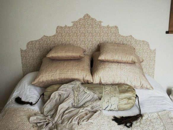 DIY: Wallpaper Headboard By Emma Cassi