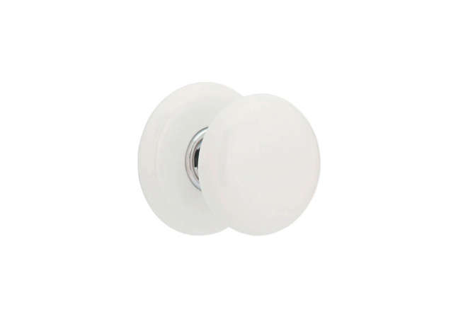 Captivating 10 Easy Pieces: White Porcelain Doorknobs