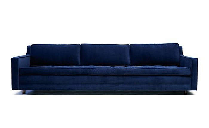Above: The Up Three Seater Sofa By Artless Is Available In Three Shades Of  Aged Velvet; $3,800 From Fab.