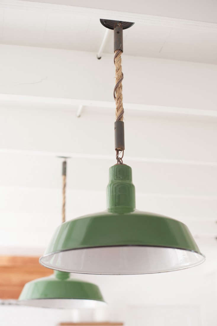 Design Sleuth: Rope Pendant Lights in a Summer Cottage - Remodelista