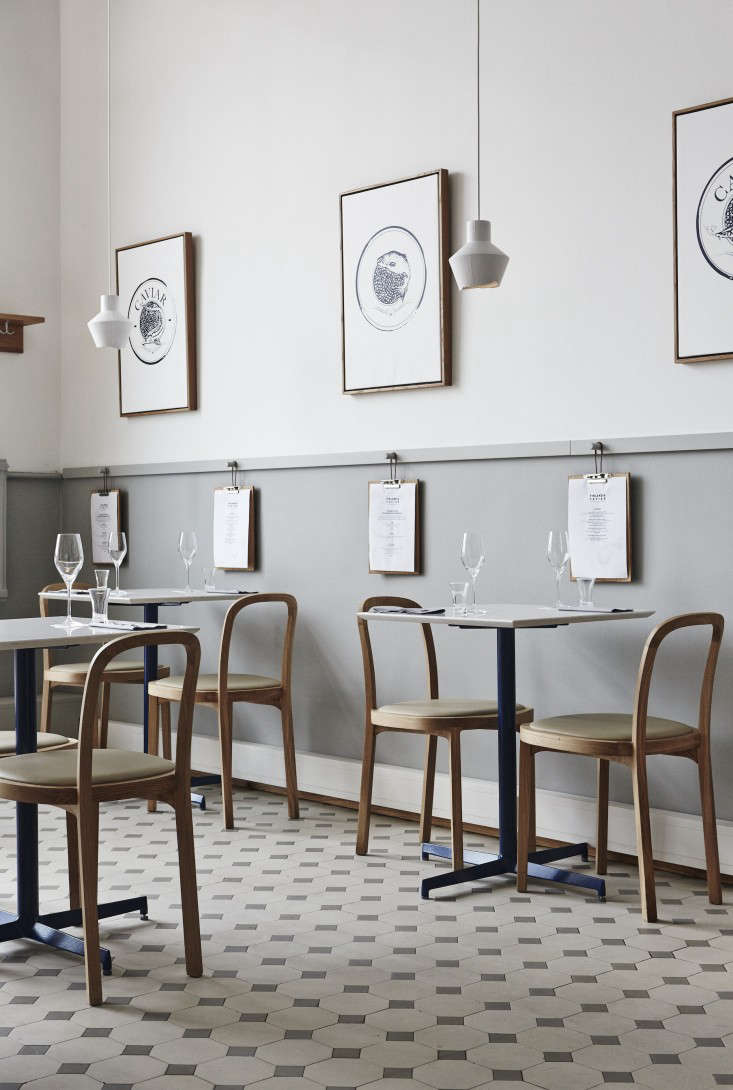 A Caviar Bar In Finland With A Wintry Palette Remodelista