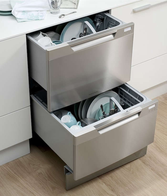 Bon Have A Standard Size Dishwasher Opening? Most Double Dishwasher Drawers Can  Be Installed Into