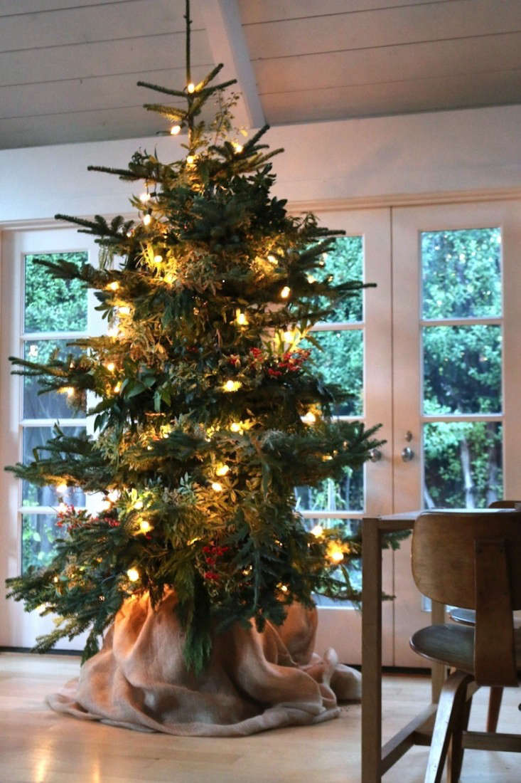 Holiday Decor: The Foraged Christmas Tree - Remodelista