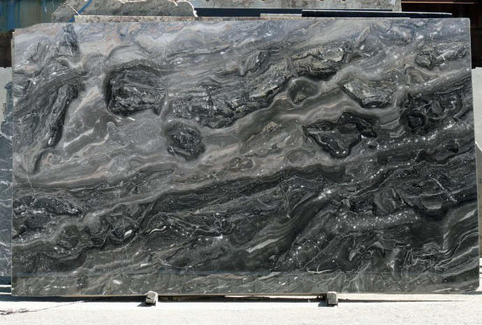 Fox Marble Arabao Grigio Slab Countertop Countertops