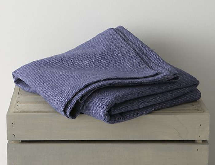 40 Easy Pieces Lightweight Cotton Blankets Remodelista Impressive Lightweight Cotton Throw Blanket