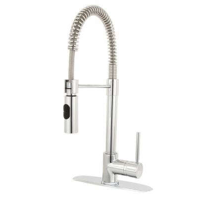 Glacier Bay Series 400 Single Handle Pull Down Sprayer Kitchen Faucet