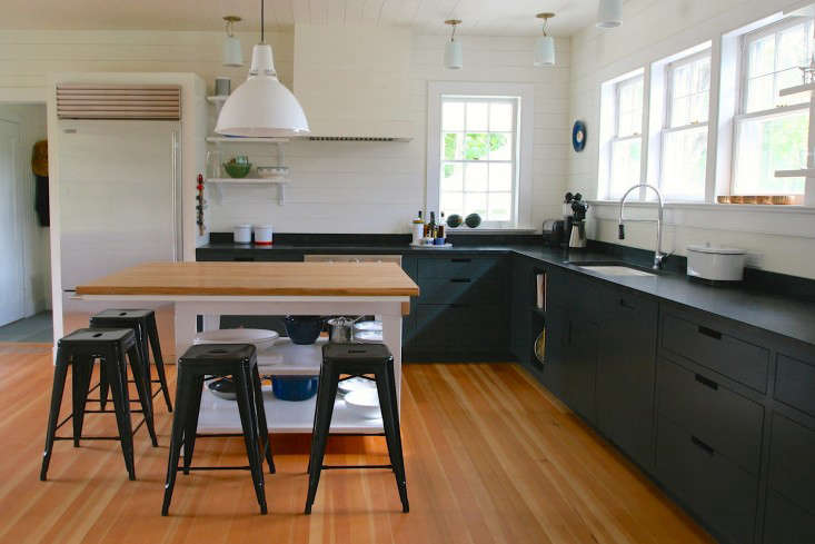 Kitchen Of The Week A Hamptons Kitchen With A Custom Island Sourced - Etsy kitchen island
