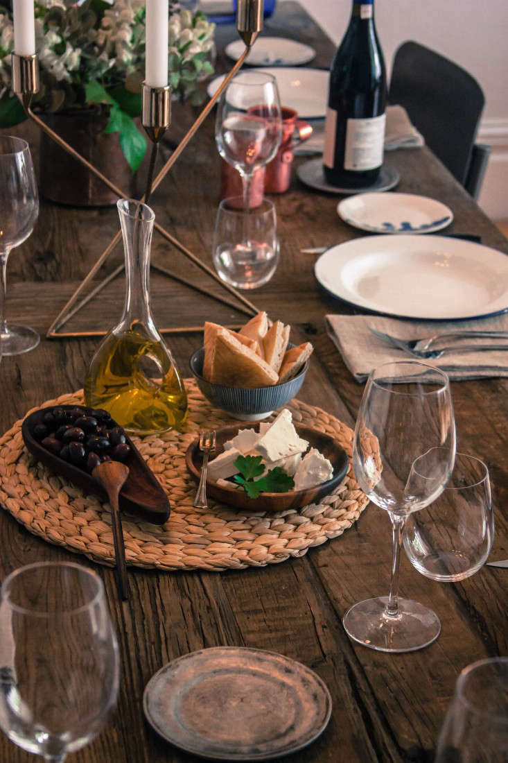 & Going to the Greek: A DIY Dinner Party in San Francisco - Remodelista