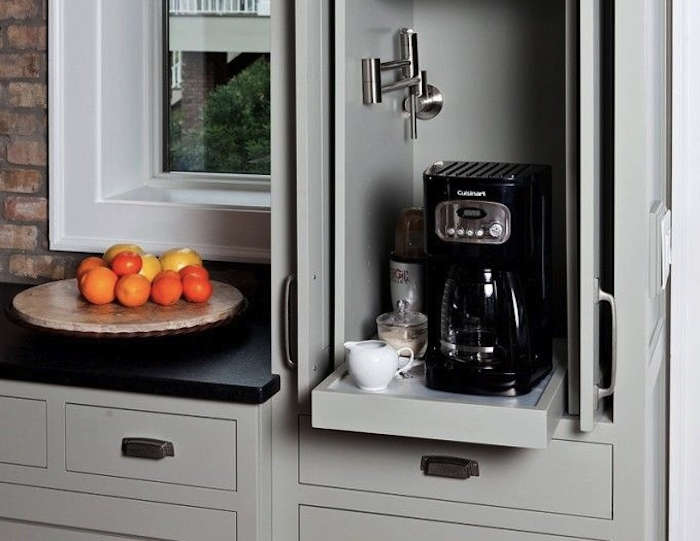 The Urban Coffee Station Space Saving Edition Remodelista