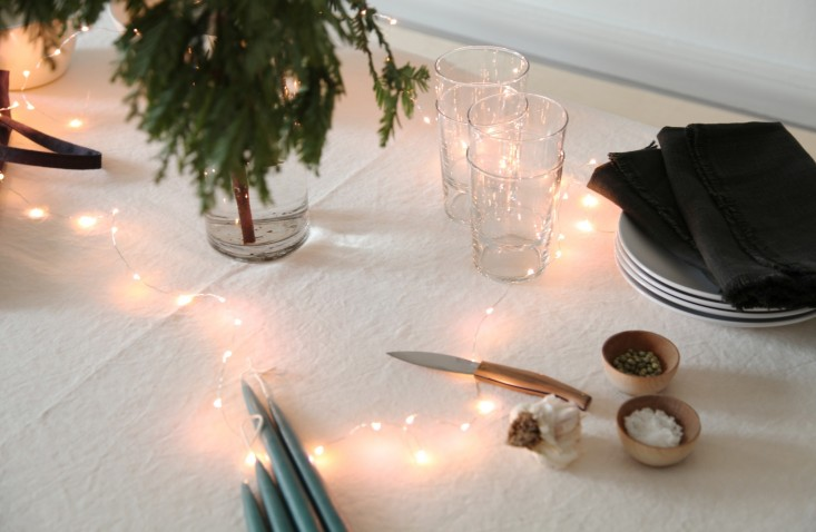 DIY: The Sawhorse Holiday Table for Less than $100