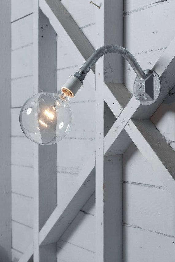 Cheap Industrial Lighting via Etsy