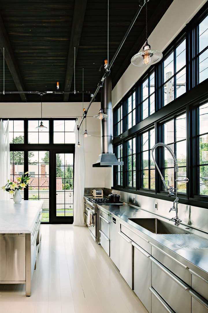 Loft Living: An Energy Efficient Oasis In Portland, Oregon